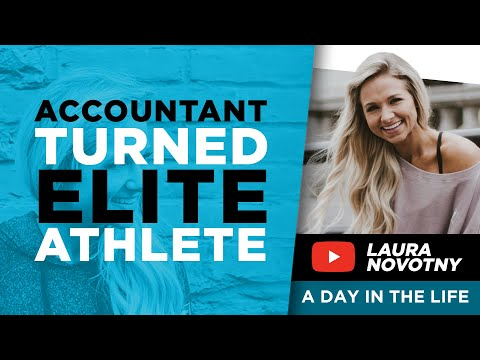 What's A Day In The Life of Elite Athlete Laura Novonty Life ... ? I VLOG