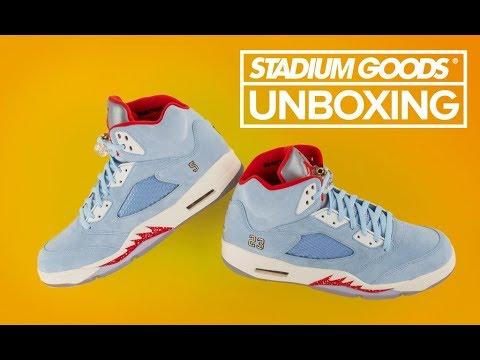 size 40 f7885 a9516 UNBOXING  Trophy Room Air Jordan 5 Retro