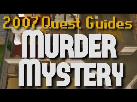 Runescape 2007 Quest Guides: Murder Mystery