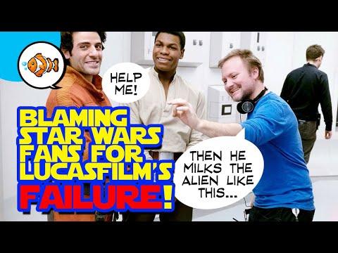 RIAN JOHNSON Blaming STAR WARS Fans for Franchise Implosion!
