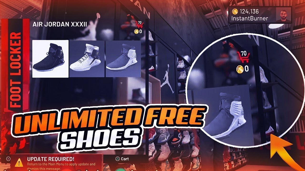 How To Get Any Shoe For Free In NBA 2k19 Tutorial