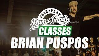 ★ Brian Puspos ★ Ultrasound ★ Fair Play Dance Camp 2017 ★