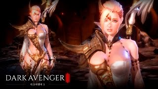 Dark Avenger 3 - Sorceress lvl 60 (All Skills + Ultimate) - CBT - Android on PC - F2P - KR