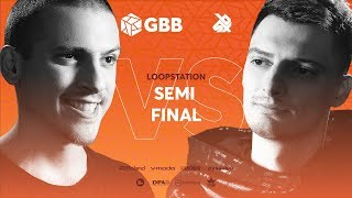 NME vs INKIE | Grand Beatbox Battle 2019 | LOOPSTATION Semi Final
