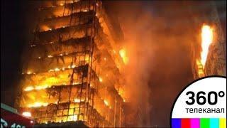 В Бразилии обрушился горящий небоскреб с людьми внутри