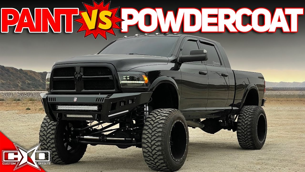 Paint Vs Powdercoat!? || This or That