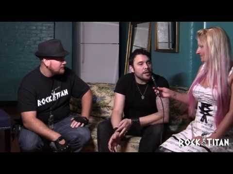Chris Taylor Brown of TRAPT interviews with ROCK TITAN TV at Make American Rock Again tour in Philly