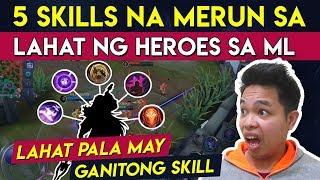 5 Skills na Merun Lahat ng Hero sa Mobile Legends