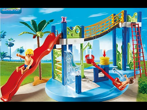 Playmobil piscine aquapark summer fun neu 2018 youtube for Piscine de playmobil