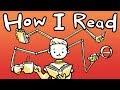 How I Read Books (UNIQUE METHOD)