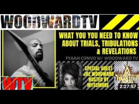 WTV Clips: FyaahhStarr TV Interview w/Jae Woodward/Fallen Angels/Hollow Earth/Time Anomalies