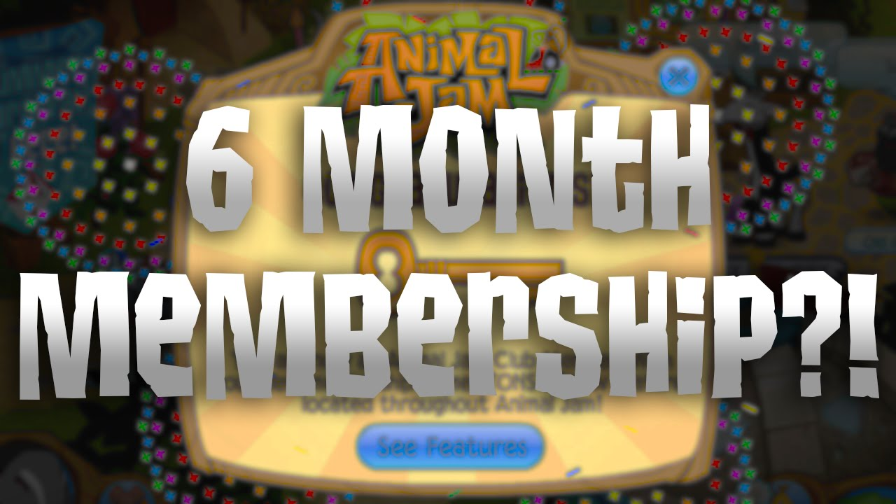 Proven Receives 6 Month Animal Jam Membership Code - YouTube