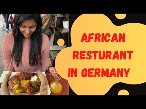 African Food Tour In Germany | 🇪🇹 Ethiopian Food in Berlin | Food Vlog Malayalam