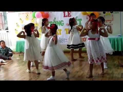 Múa niềm vui của em - trường MNTT Hạnh Phúc Quận Thủ Đức