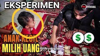 Eksperimen anak kecil bisa tidak memilih uang?