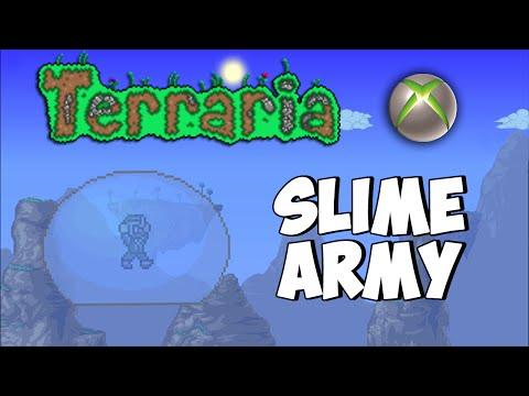 Terraria Xbox - Nitro's Magic Mansion - Slime Army [7]