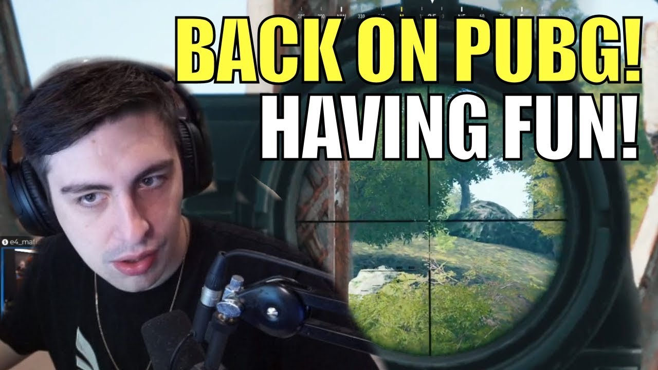 SHROUD ▪ Back On PUBG - Amazing Victory! Finally Having Fun [ BattleGrounds]
