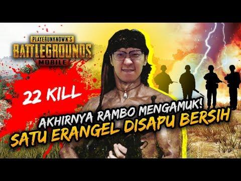 Aktivasi CHEAT RAMBOO! SATU ERANGEL DISAPU BERSIH !- PUBG Mobile Indonesia