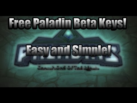 EASY & FREE PALADINS BETA KEYS!