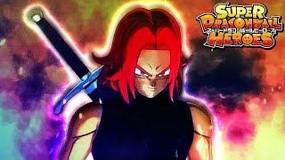 NEW SUPER SAIYAN GOD TRUNKS FORM REVEAL! Super Dragon Ball Heroes Trailer Xeno Trunks Goes God