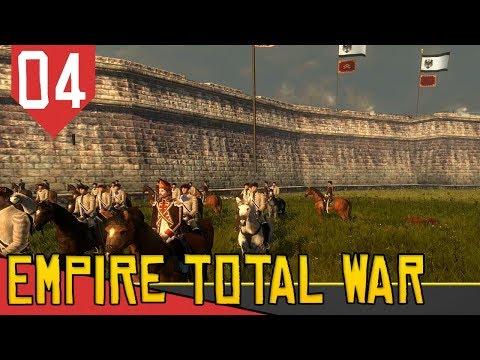 Para As MURALHAS! - Empire Total War Prussia #04 [Gameplay Português PT-BR]