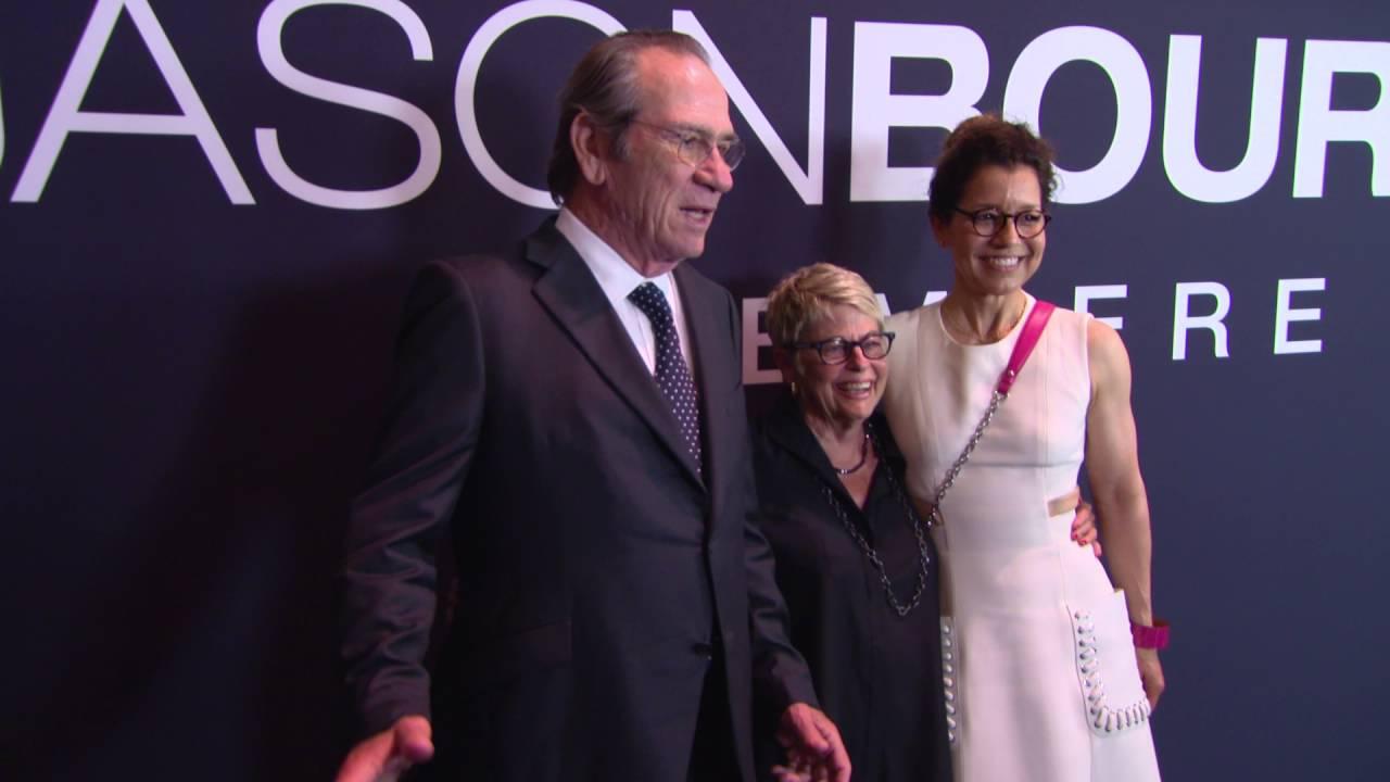 Alicia Vikander at the premiere of Jason Bourne in Las Vegas