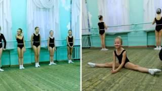 Открытый урок классического танца 22 декабря  2015  (Create