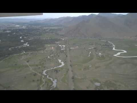 Flight Over Mongolia