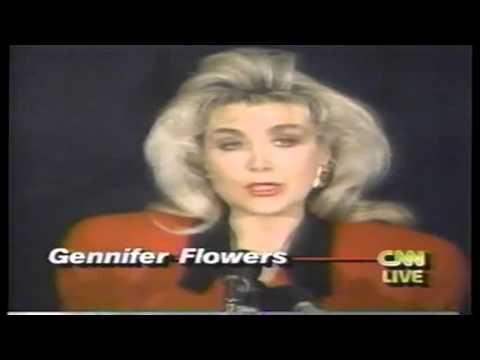 Bill Clinton Gennifer Flowers infidelity Jan 1992