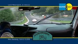 VLN 2005 - Land Motosport - Porsche 996 GT3 RSR - Marc Basseng - Qualifying Onboard