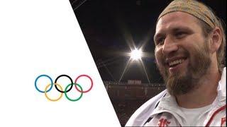 Tomasz Majewski (POL) Wins Shot Put Gold - London 2012 Olympics