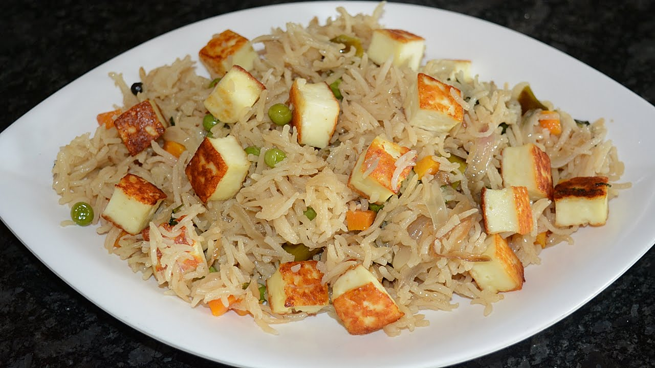 Image result for Paneer Pulao