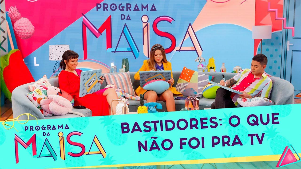 Bastidores: O que você não viu na TV | Programa da Maisa (13/07/2019)