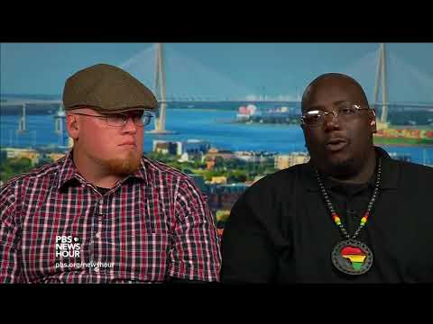 A secessionist and a black nationalist pledge peaceful dialogue after Charlotteville