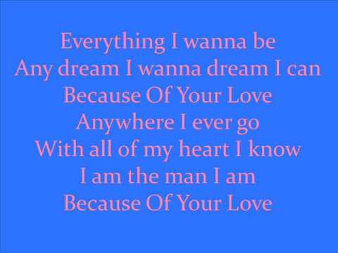Because Of Your Love By Kenny Chesney