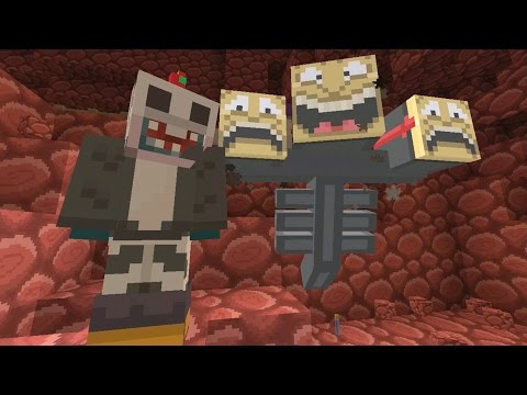 Minecraft Xbox - Quest To Kill The Wither - The Battle! (21)