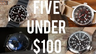 Top Five Under $100 Watches for Beginner Watch Enthusiasts: Timex, Casio, Seiko & More!   555 Gear