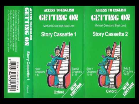 Access to English - Book 2 - Getting on -- complete story cassettes 1 & 2 -- new edition - 1984