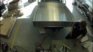 Nissan Navara Alloy Tray Building Time-lapse