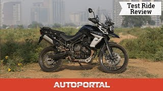 Triumph Tiger 800 - Test Ride Review - Autoportal