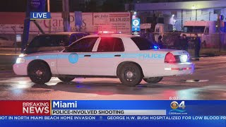 Police Involved Shooting in Miami