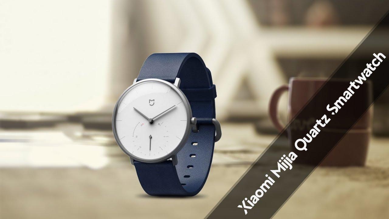 Xiaomi Mijia Quartz Smartwatch   2018 - YouTube