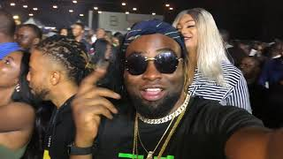Dr.Flezzy & Davido Perform Flora My Flower & Skelewu Live at Davido Concert in Abuja