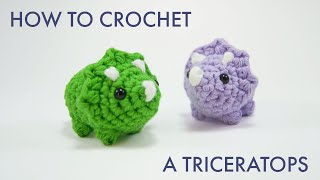 Download the PDF: https://clubcrochet.com/TRICERATOPS Become a Club...