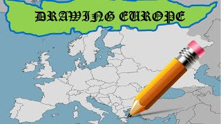 Drawing Europe from Memory | GEOGRAPHY CHALLENGE