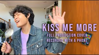 Kiss Me More (Doja Cat ft. SZA) - FULL PRODUCTION COVER but recorded with a phone