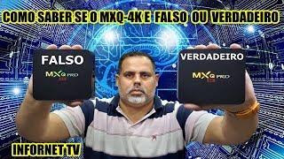 NÃO JOGUE DINHEIRO FORA!! COMO SABER SE O SEU MXQ-4K-PRO E (FALSO OU ORIGINAL ? )EM 2019