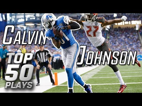 Calvin Johnson Top 50 Most Unbelievable Plays of All-Time