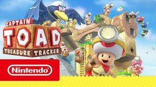 Captain Toad: Treasure Tracker – Bande-annonce de la presse (Nintendo Switch + Nintendo 3DS)