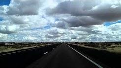 Winslow - Joseph City - Holbrook US 66 I-40 Arizona Dashcam